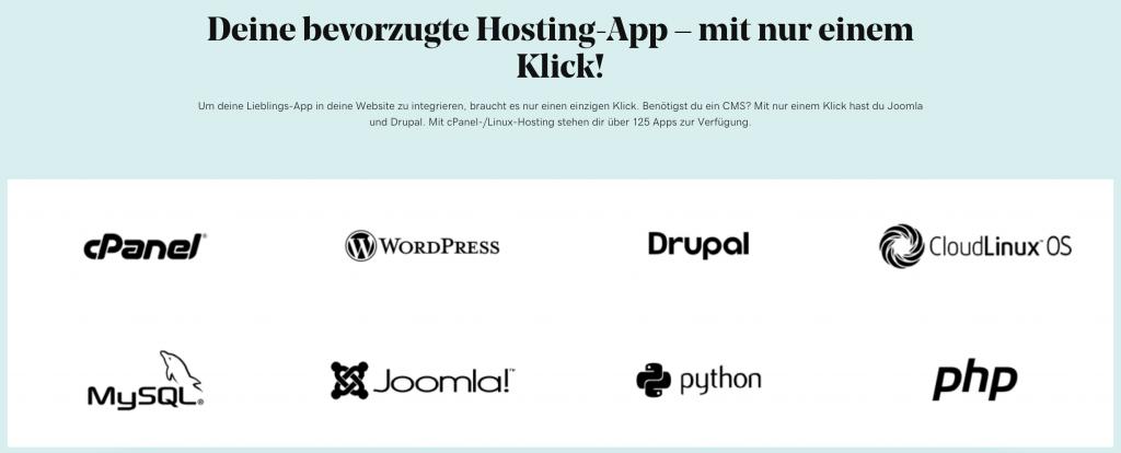 GoDaddy Hosting Apps